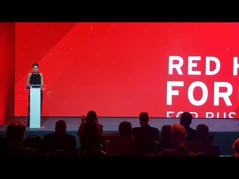 Contratar a Veronica Varano - Evento de Red Hat Forum