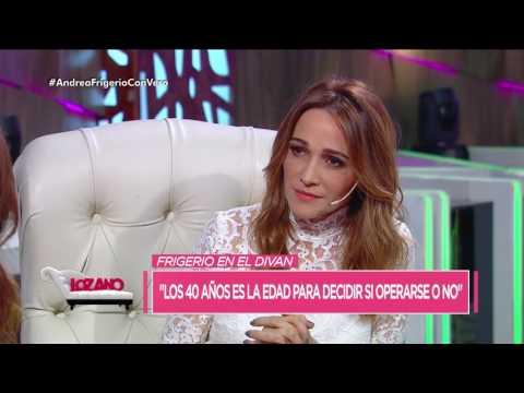 """Andrea Frigerio: """"Los 40 años son la edad para decidir operarse o no"""" - Cortá por Lozano"""