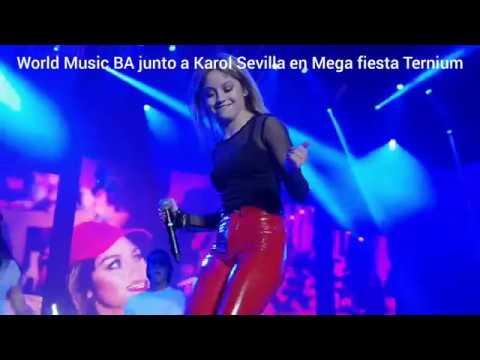 Contratar a Karol Sevilla - Mega Fiesta Ternium
