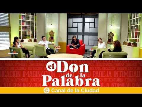 Adrián Guerra, Nadia Zyncenko, María Areces y Sabrina Farji en El Don de la Palabra