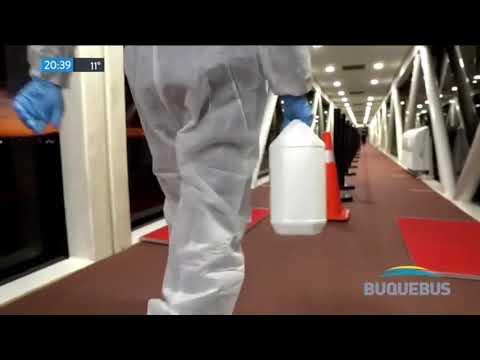 Publicidad BUQUEBUS (Coronavirus) (Cuatentena) (Pancho Ibañez) (Boreau Veritas) (Junio 2020)