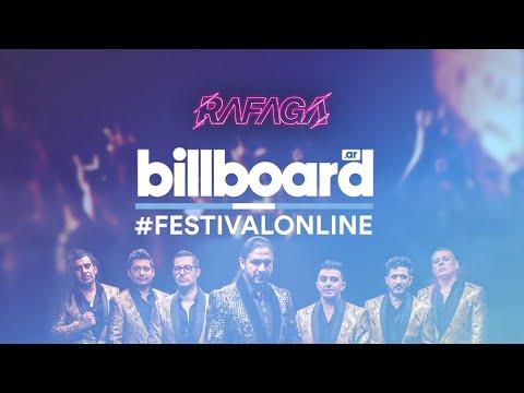 Rafaga - Festival Online Billboard