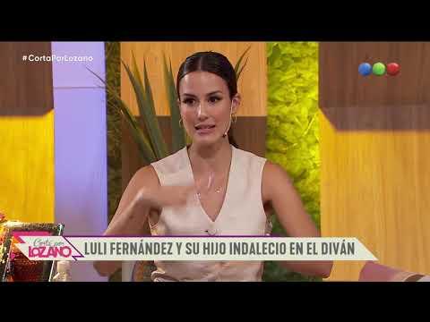 Luli Fernández con su hijo Indalecio en el diván con Paula Cháves - Cortá por Lozano 2021