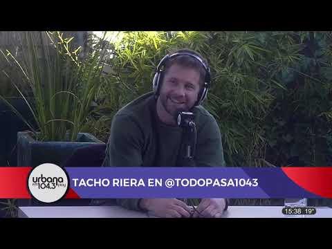 """Nos visitó Nico """"Tacho"""" Riera en Todo Pasa   Nota completa"""