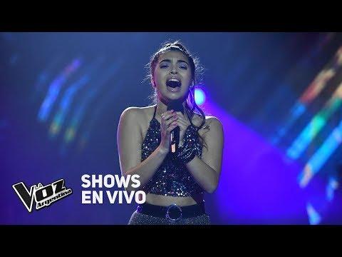 """Shows en vivo #TeamAxel: Amorina canta """"Me vas a extrañar"""" de Damas Gratis - La Voz Argentina 2018"""