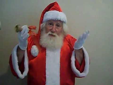 Contratar a Papa Noel - Nos dejó un saludo