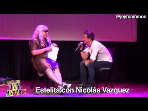 Estelita con Nicolás Vazquez
