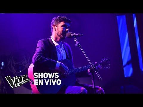 """Shows en vivo #TeamSole: Lucas Belbruno canta """"La llave"""" de Abel Pintos - La Voz Argentina 2018"""