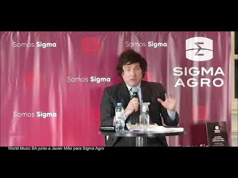 Contratar a Javier Milei - Charla para Sigma Agro