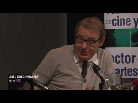 Charla de Axel Kuschevatzky en el CIC