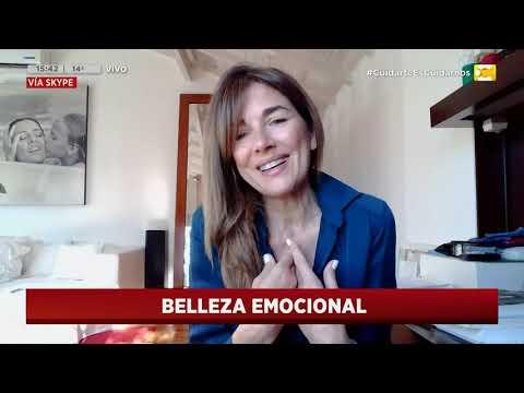 """Andrea Frigerio presenta su nuevo streaming """"Belleza Emocional"""" en Hoy Nos Toca"""