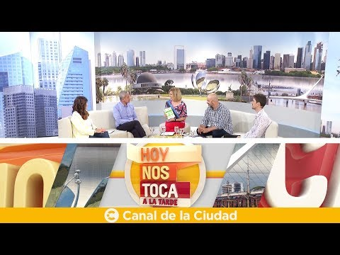 """""""Lidera tu vida"""": Entrevista a Samuel Stamateas en Hoy nos toca a la Tarde"""