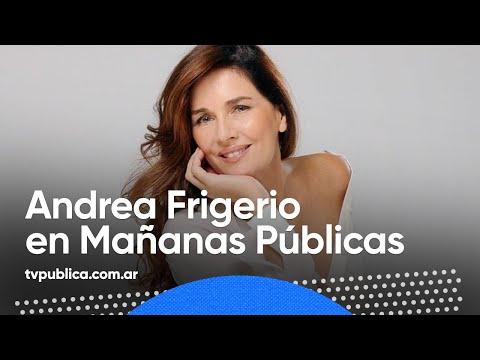 Entrevista a Andrea Frigerio - Mañanas Públicas