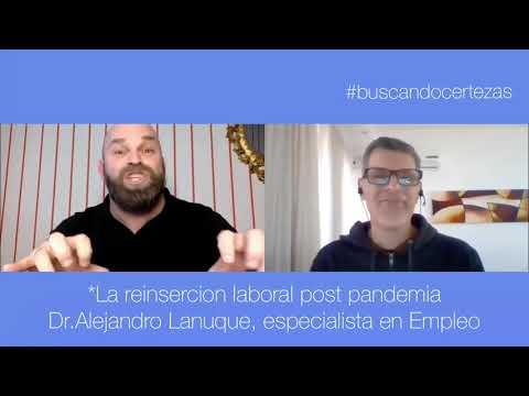 La reinserción laboral post-pandemia / Dr.Alejandro Lanuque, especialista en empleo   Consultor