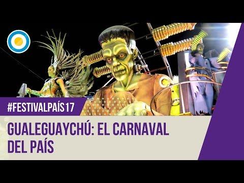 Festival País 17' - Comparsa Kamarr en el Carnaval de Gualeguaychú
