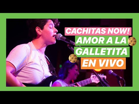 CACHITAS NOW! - Amor A La Galletita - EN VIVO (Lucamba)