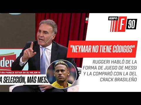 """#Ruggeri, SIN VUELTAS: """"Neymar no tiene códigos"""""""
