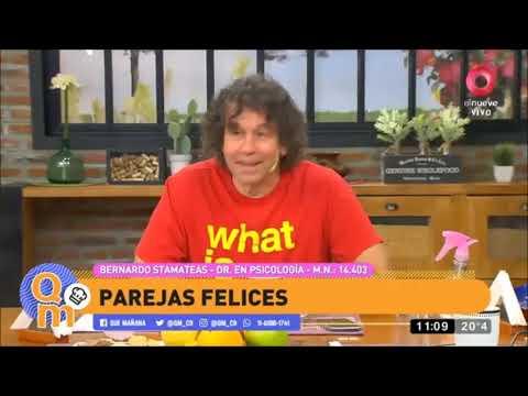 """Parejas"" - Bernardo Stamateas en Que Mañana!. Canal 9. 30/12/2020"