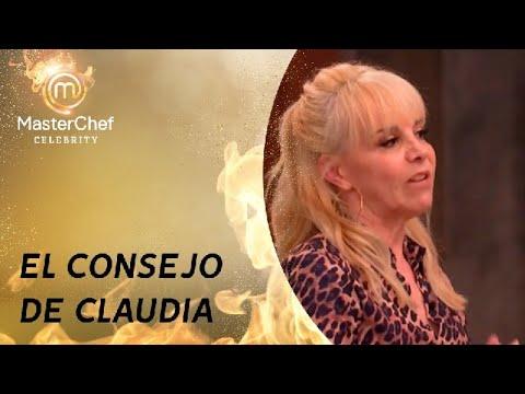 Claudia Villafañe y su consejo para ganar el certamen - MasterChef Argentina 2021