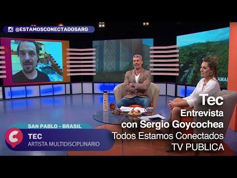 Goycochea entrevista Tec para el programa Todos Estamos Conectados / TV Pública Argentina