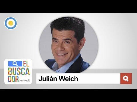 Julián Weich en El Buscador en red