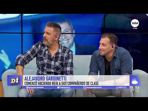 Alejandro Gardinetti, un humorista con más de 30 años de trayectoria