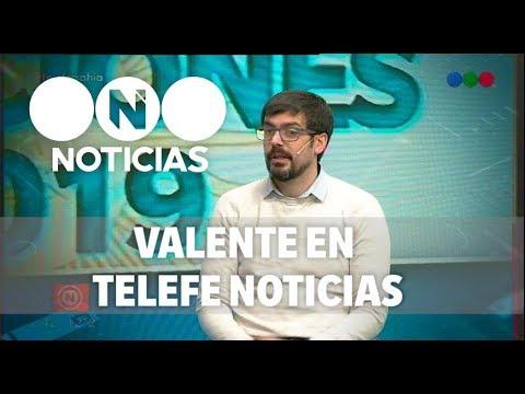 La elección en Bahía: Leonardo Valente en Telefe Noticias