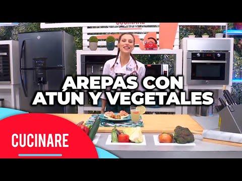 """Cucinare TV - """"Arepas con atún y vegetales"""""""