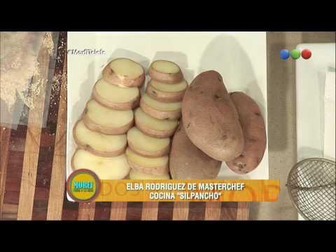 Elba Rodriguez de MasterChef cocina Silpancho - Morfi