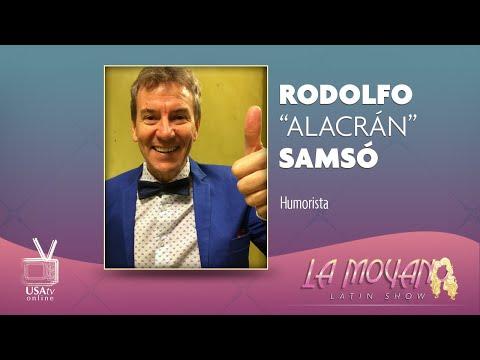 🎭Rodolfo Samsó - Alacrán🎭 en 👏La Moyano Latin Show👏
