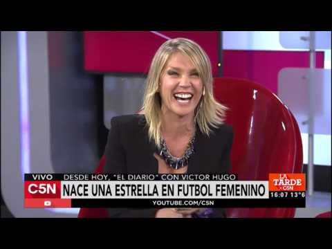 C5N – La Tarde: Melina Fleiderman, una estrella en fútbol femenino