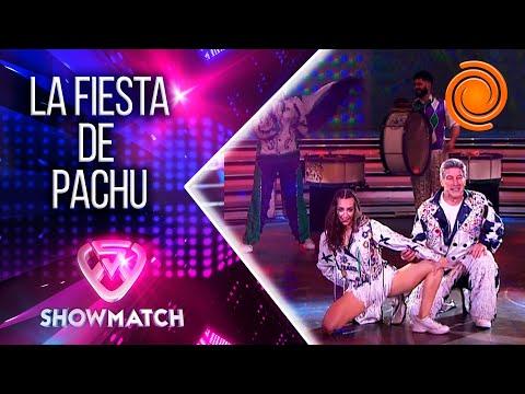 Pachu Peña llevó la alegría de la murga a la pista de La Academia y hasta el jurado terminó bailando