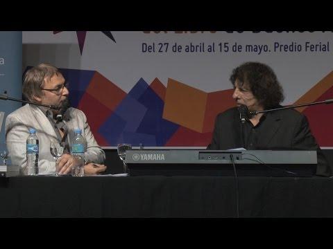 Alejandro Dolina y Gabriel Rolón en la Feria Internacional del Libro de Buenos Aires