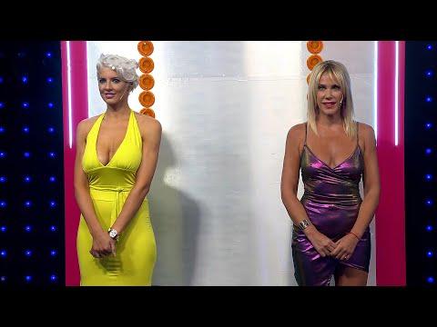 ¡Dos rubias combativas! Tamara Bella y Marcela Baños jugaron en las sentadillas y lo dieron todo