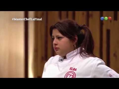 MasterChef Final - Elba Rodriguez [Momento Final]