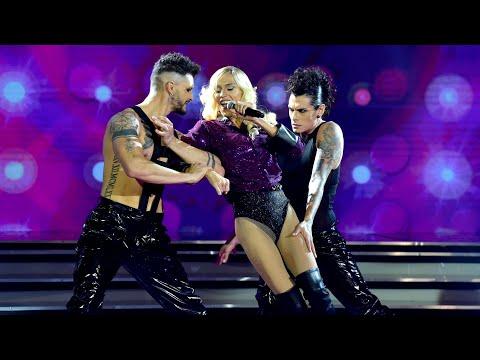 ¡UNA REVELACIÓN! Mariana Genesio Peña brilló imitando a Madonna