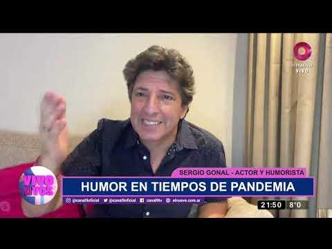 El humor de Sergio Gonal en tiempos de pandemia