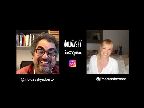 Moldavsky Temporada de Casa Instagram Live con Jimena Monterverde
