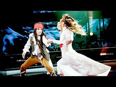 """¡Nazareno Móttola se convirtió en """"Jack Sparrow"""" en un Duelo a pura acción y aventura!"""