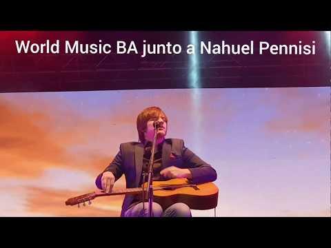 Contratar a Nahuel Pennisi - Primer festival del Rio Atuel