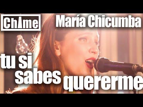 María Chicumba - Tu si sabes quererme @ La Chimenea UNDAV