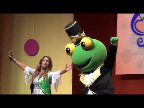 Poing Poing salta, el sapo de los chicos- EN VIVO - Cantando con Adriana