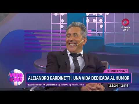 Alejandro Gardinetti, una vida dedicada al humor