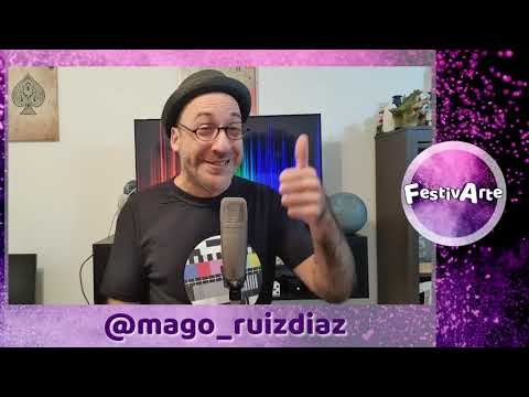 "FestivArte: Mago Ruiz Díaz ""El Rebo"""