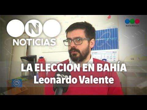 En el cierre de campaña, Leonardo Valente se sometió al ping pong de Telefe Noticias