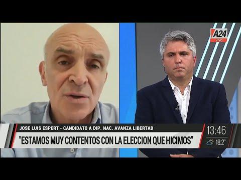 "José Luis Espert en ""Maxi mediodía"", de Maxi Montenegro; por A24 - 14/09/2021"