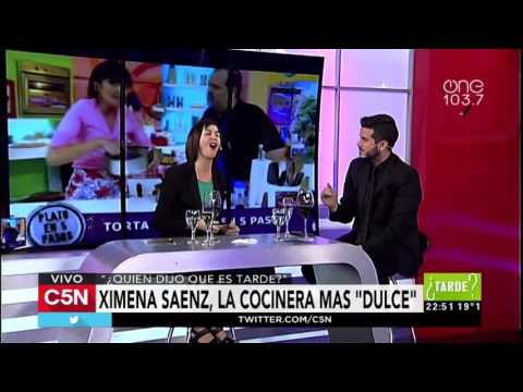 C5N - Quien dijo que es Tarde: Entrevista a Ximena Saenz