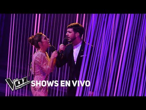 """Soledad y Lucas Belbruno cantan """"Vivir es hoy"""" - La Voz Argentina 2018"""
