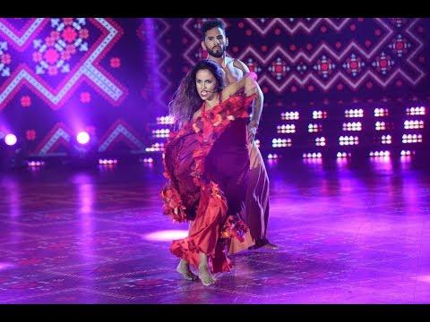 El segundo baile de Lourdes Sánchez y Gabo Usandivaras fue un gran Folclore