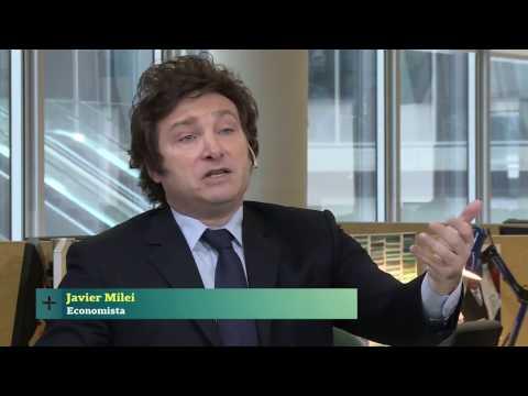 Entrevista al economista Javier Milei - Conversaciones